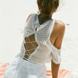Delicate Overlay Playsuit